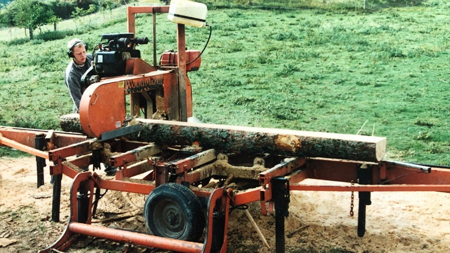 Wood-Mizer LT40 mobile sawmill