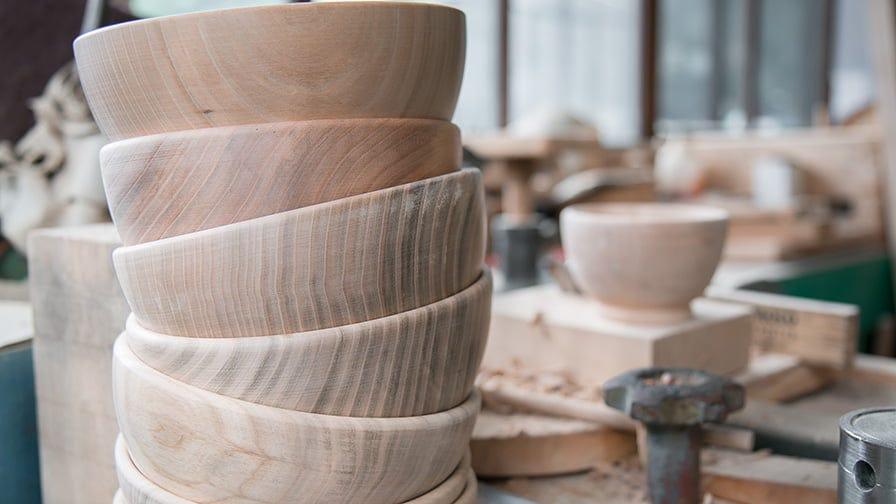 Wooden bowl blanks