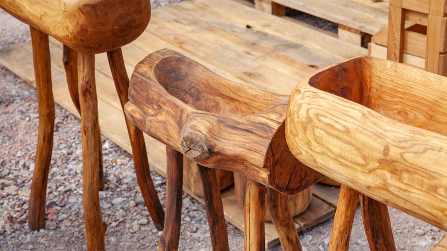 OLD Mountain products from salvaged wood