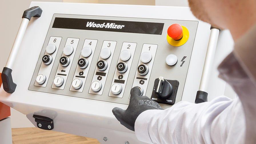 Wood-Mizer MP360 Control panel