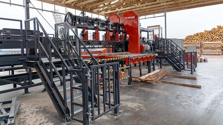 TITAN sawmilling line