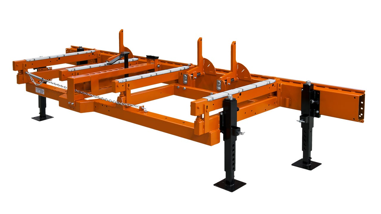 Bed Extension for Sawmill